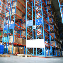 Économie de l'espace CE certificat VNA rack en acier résistant