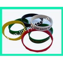 Silikon Armband mit Glow Functionm-Wb08)