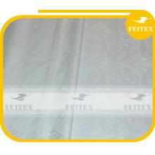 Белое кружево ткань парча feitex вышивка лучшее качество Нигерийские ткани feitex Базин