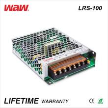 Motorista do diodo emissor de luz do anúncio de Lrs-100 SMPS 100W 24V 4A