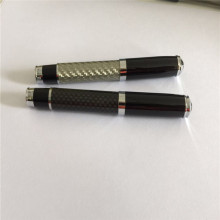 High end promosi karbon fiber pen set OEM
