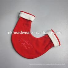 Anti-pilling guantes 100% poliéster polar amante de la Navidad