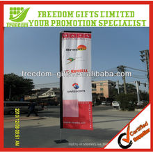 Banner de bandera al aire libre personalizado de calidad superior