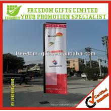 Bannière de drapeau extérieur personnalisé de qualité supérieure