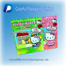 Printing Special toys 3 side seal /back seal bags