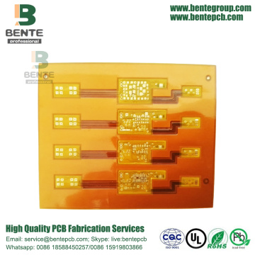 Cheapest Price for Flexible Printed Circuit Flexible PCB 2 Layers Yellow Soldermask export to Germany Factories