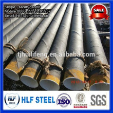 Epoxy Coal Tar / Asphalt Coating Steel Pipe