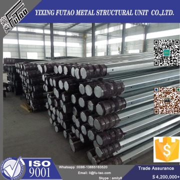 Galvanized Electric Steel Power Distribution Poles