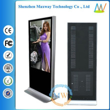 55 pouces plancher permanent HD vidéo station-service publicité