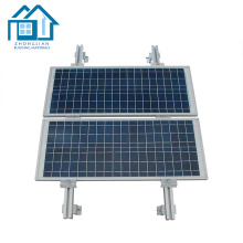 Structure réglable de montage de panneau solaire en acier PV en aluminium