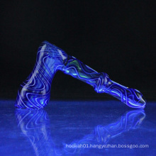 Wholesale Glass Fumed Bubbler for Smoking with 2 Color (ES-HP-078)