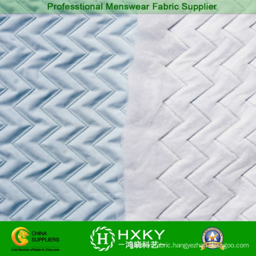 Polyester Weave Pattern Quilted Fabric for Jacket