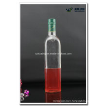 1000ml 1 Liter Empty Square Clear Glass Olive Oil Bottles