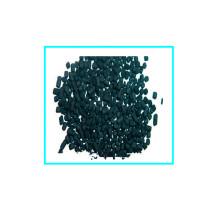 KOH  impregnated pellet carbon