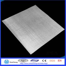 Treillis métallique tissé par électrode d'argent pur de 80 microns