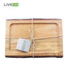 Tabla para picar de madera de acacia