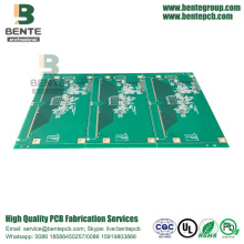 High-precision Multilayer PCB 4 Lagen PCB FR4 Tg170 ENIG
