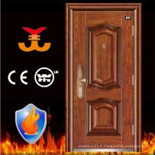 Porte d'acier de sécurité de l'appartement ISO9001 High Level