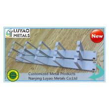 Aluminum/Steel Bracket Stamped by High Speed Punching Machine