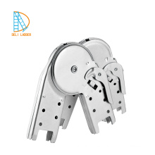 Bisagra de escalera de aluminio que bloquea las piezas de la escalera que bloquea la bisagra