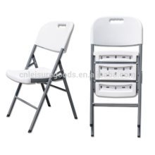 HDPE folding white blow plastic chairs blow plastic chairs