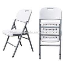 HDPE складной белый дуют пластиковые стулья пластиковые стулья удар