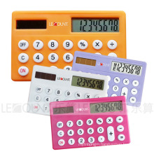 Dual Power Credit-Card Sized Calculator (LC536A)