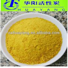 30% de cloruro de polialuminio en polvo amarillo para tratamiento de agua