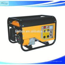Refrigerado por aire de un solo cilindro 4 tiempos Recoil / Generador de gasolina de arranque eléctrico 5.5hp