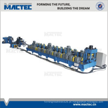 Rolo de alto desempenho do painel de parede do aço do corrimão da via expressa que forma a máquina