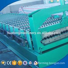 Low cost metal sheet roof maker machine corrugated iron sheet making