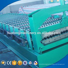 Customized width building material corrugated sheet roll forming machine