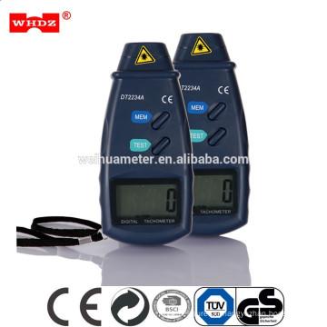Digitaler Laser-Foto-Tachometer DT2234A RPM berührungsloser photoelektrischer Tachometer