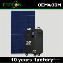 100W Solarpanel für 400W aus dem portablen Solar-Hausnetz