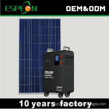 220V 300W 400W portable solar power generator pure sine wave solar inverter system for home use