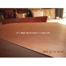 Okoume Plywood Poplar Core WBP Glue BB/CC Grade