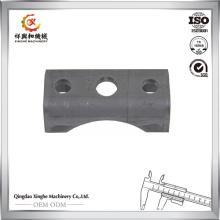 Fabricación de China Leaf Spring Upper Cast Pad en semi remolque Suspensión Casting Remolque Remolque Seat primavera