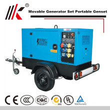 MOVABLE 10MW GENERATOR WITH DIESEL SILENT GENSET 1500KW YUCHAI ENGINE