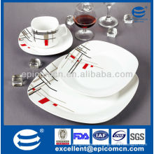 new 16pcs daily use ceramics with plates and cups                                                                         Quality Choice