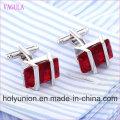 VAGULA Qualidade Hot Sales Super Qualidade Prata Gemelos Cuff Links (325)