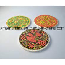 Ceramic Artwork UV Printing Kitchen Coaster
