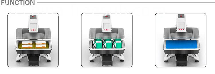 3D Vacuum Sublimation Mug Automatic Heat Press Machine