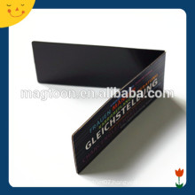 Rectangle custom made magnetic bookmark