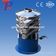 Principe de fonctionnement en poudre d'oxyde de zinc machine à tamis vibratoire