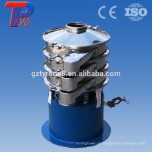 Óxido de zinco método de trabalho em pó máquina de crivo vibratória