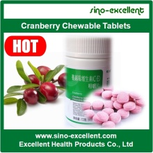 Factory Price for Vitamin Softgel Cranberry Chewable Tablets supply to Liberia Manufacturers