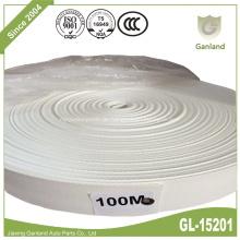 Weißer Polypropylen-Gurtbandbeutel-Griffgurt 48mm