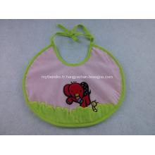 Bavoirs de bébé imperméables en PVC personnalisés avec logo