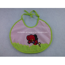 Custom PVC impermeável Baby Bibs W / Logo