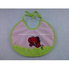 Bibs impermeables del bebé del PVC de encargo con el logotipo